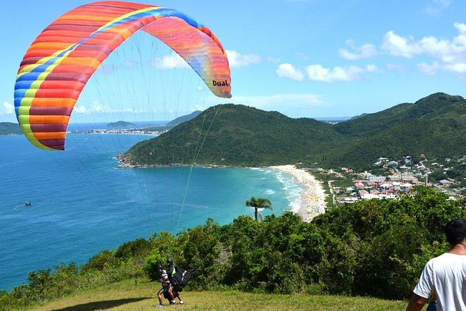 Voo de parapente com instrutor em Florianópolis