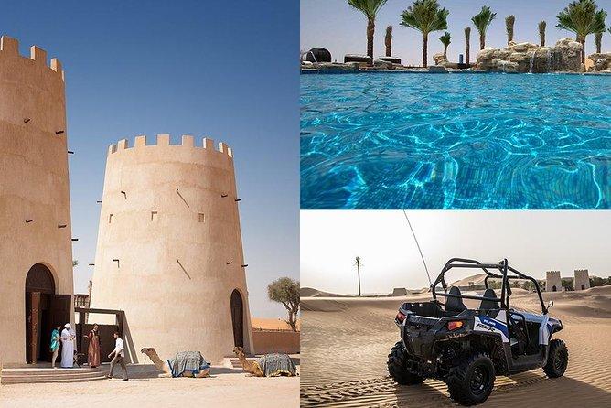 Self-Drive Dune Buggy & Oasis Pool - 4x4 Transfers from Abu Dhabi