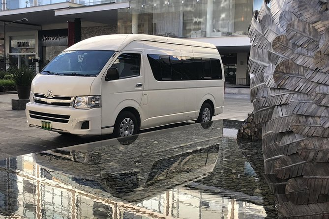 Transportation from airport to hotel throughout Guadalajara