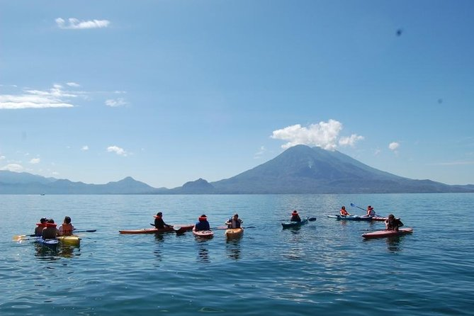 2-Day Lake Atitlan Pedal & Paddle from Antigua, Guatemala