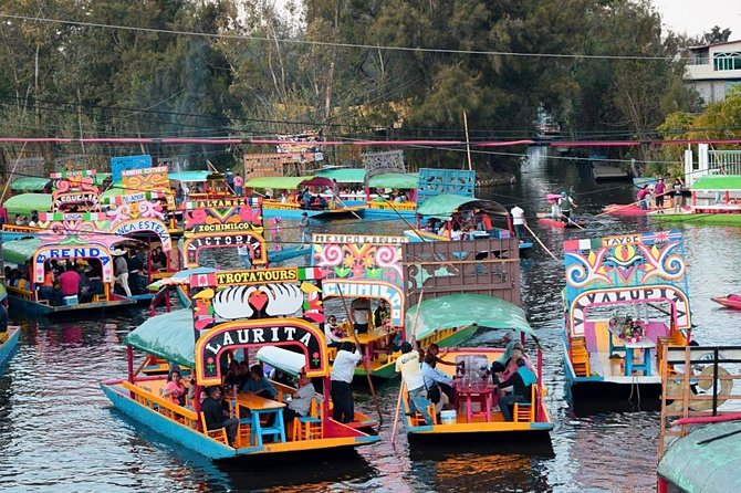 Xochimilco, CYCLING & TRAJINERAS with NOMAD