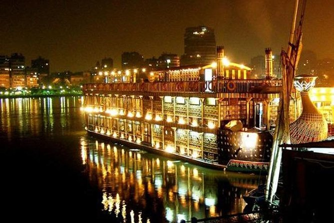 Enjoy Cairo Highlights: 3-Day Guided Tour with Dinner Cruise and Camel Ride