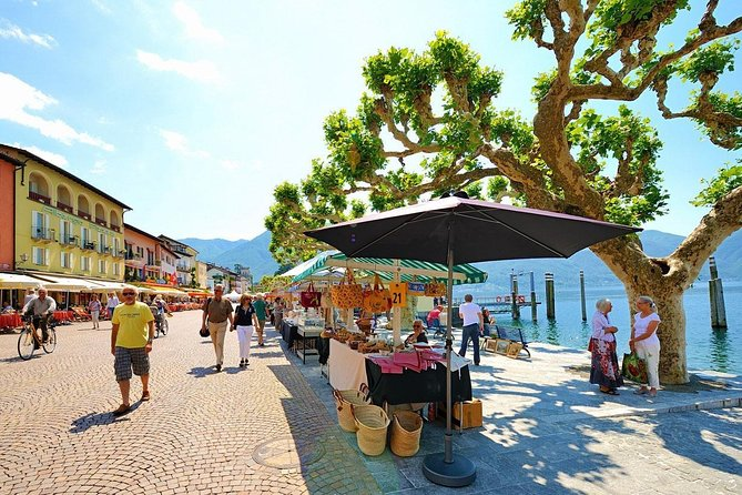 Lake Maggiore: from the market in Luino to an aperitif at the Castles of Cannero