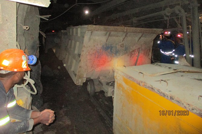 Cullinan Diamond Mine Tour - Underground tour