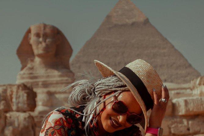 Cairo airport transit visit giza pyramids egyptian museum bazaar & nile cruise