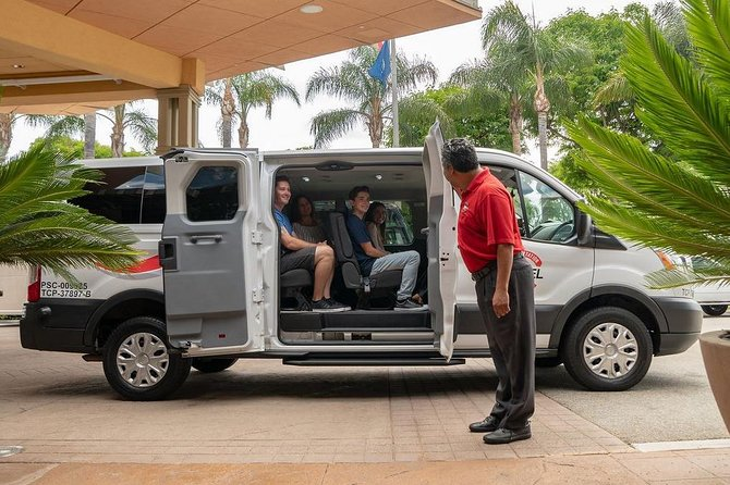 Private Van Airport Arrival Transfer: LAX Airport to Anaheim Resort Area