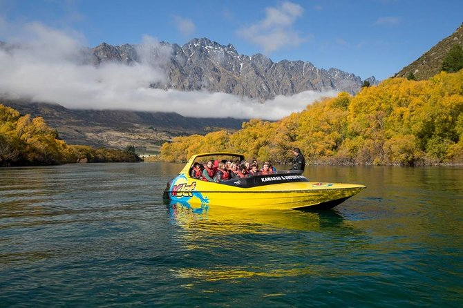 Queenstown 60-minute Jet Boat Ride on the Shotover & Kawarau Rivers