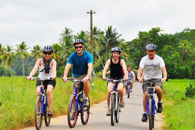 Lagoon and Village Cycling Tour from Galle / Unawatuna