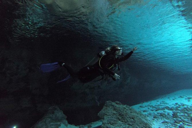 PADI Discover Scuba Diving Cenote Dive