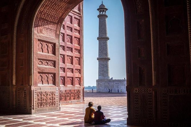 Half Day Taj Mahal & Agra fort Tour by Tuk Tuk (Sunrise View Taj Mahal)