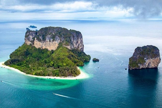 Krabi 4 Islands + Yawasam Island Premium Service by Big Longtail Boat
