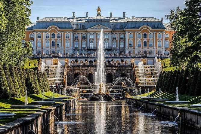 St. Petersburg Private Tour with a visit to the Church on the Blood + Peterhof