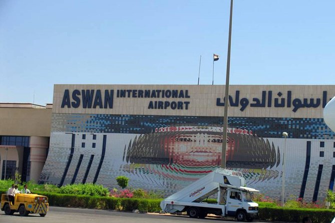 Private pickup from Aswan international Airport