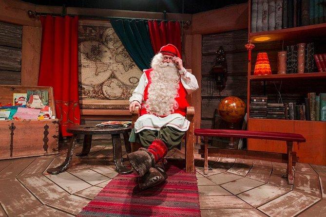 Highlights of Rovaniemi (Santa Claus Village+Reindeer & Husky Sledge Ride)