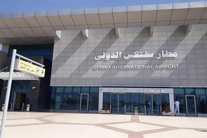 Private pickup from Sphinx international Airport
