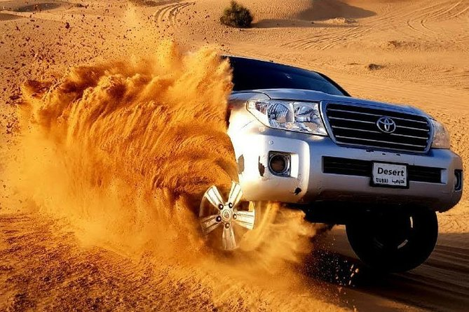 Enjoy Desert Safari With BBQ Dinner and Many More