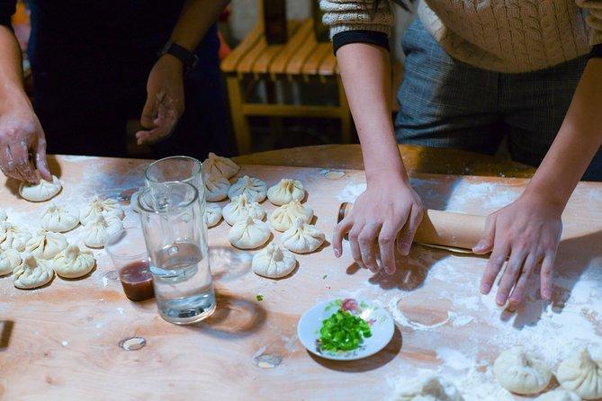 "Georgian traditional dumplings ""Khinkali"" cooking master class!!"