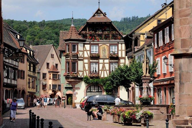 Wine Route Departure Bâle : Colmar - Eguisheim - Riquewihr - Kaysersberg