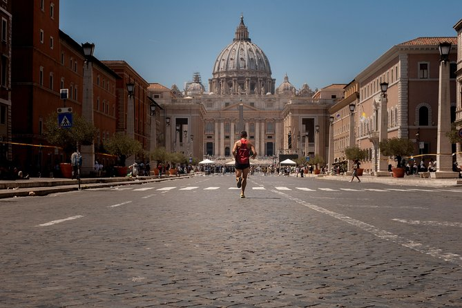 Adventure Running Tour through Rome