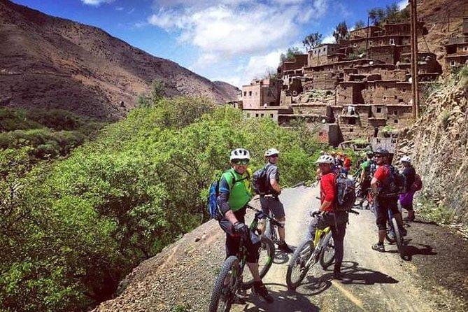Easy Economic 5 days Cycling Trip in Marrakech Atlas Mountains Imlil & Ouirgane