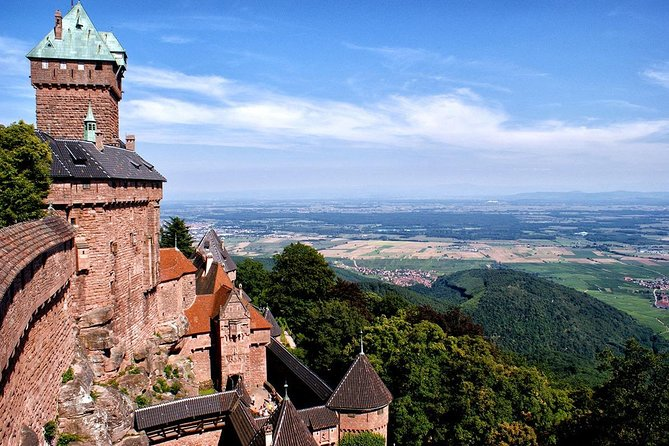Private transfer from Strasbourg to Haut Koenigsbourg or the opposite way