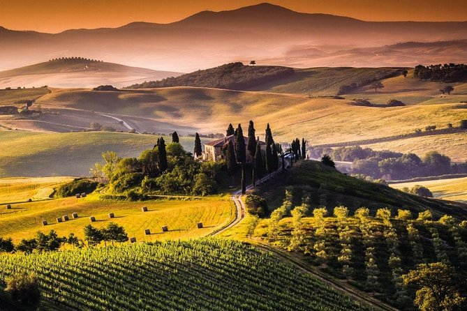 From Siena and Florence: Private day trip to Val d'Orcia