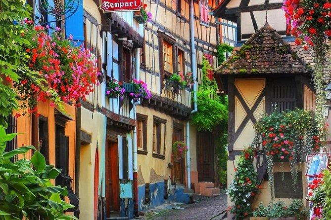 Wine Route Departure Colmar : Eguisheim - Kaysersberg - Riquewihr - Ribeauvillé