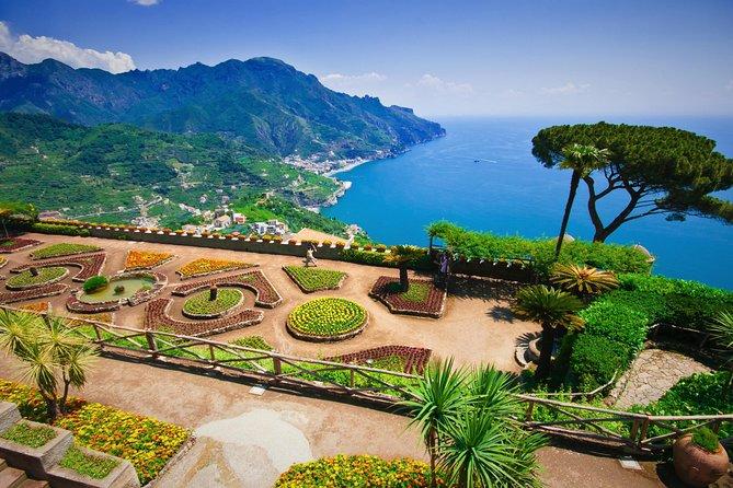 From Rome to Tour Amalfi Coast: Ravello + Amalfi + Positano (FullDay 8h)