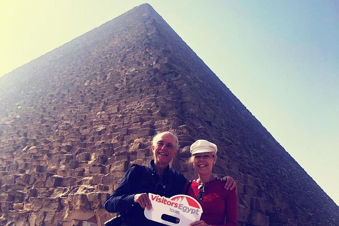 Explore The Pyramids of Giza in a Day Tour photo 1