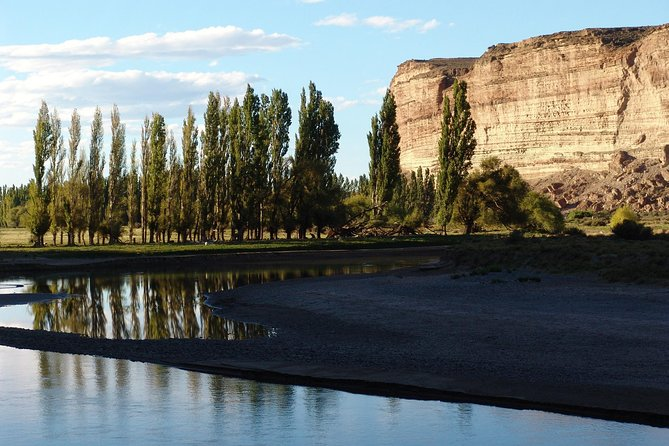 Chubut River Valley with Gaiman Welsh Village from Puerto Madryn