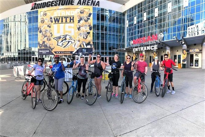 Guided Bicycle Tour of Downtown Nashville and Neighborhoods