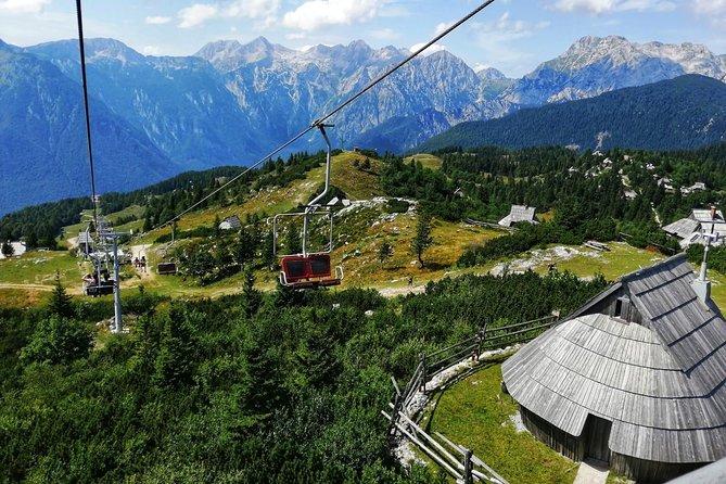 Velika Planina Mountain Plateau, Škofja Loka and Kamnik Tour from Ljubljana