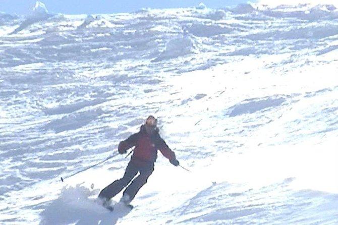 Ski lessons in Baqueira.