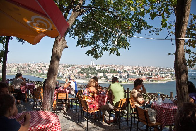 The Golden Horn, Eyup Sultan Mosque & Miniaturk Park