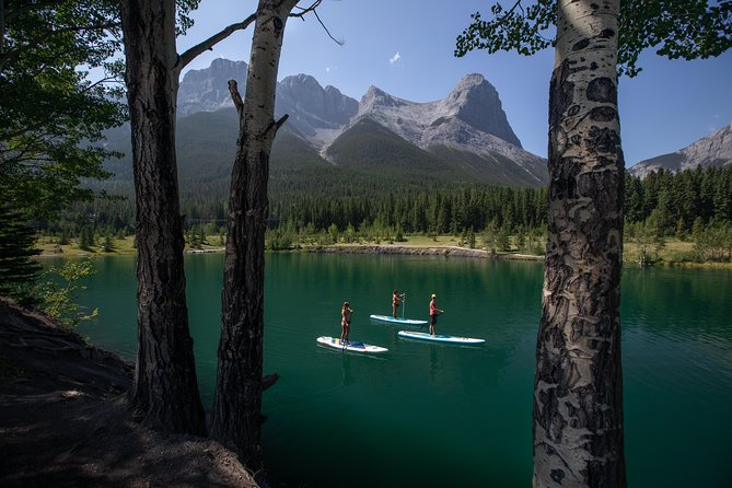 Rundle Forebay Canmore Stand Up Paddleboarding (SUP) Tour