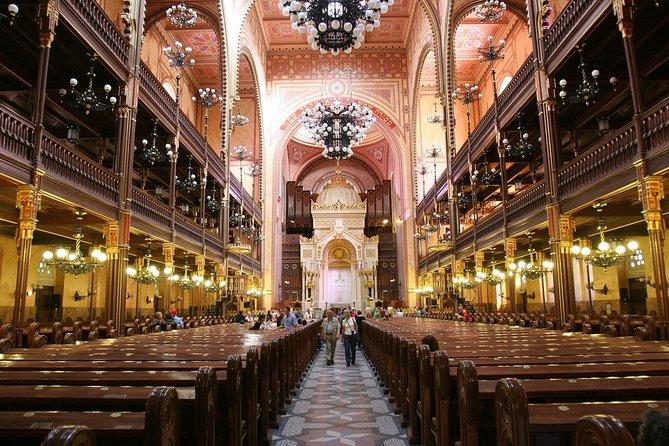 Privat jødisk Budapest-tur med flott synagoge og koser dessert