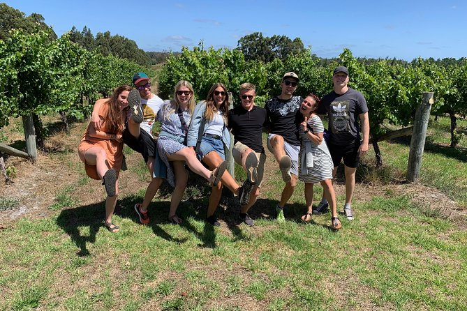 The Cheers Glass Half Full Tour in Margaret River