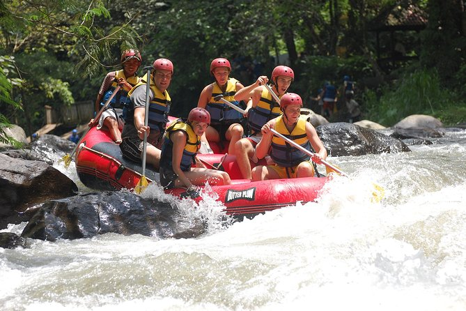 Exciting RAFTING & Bali SWING