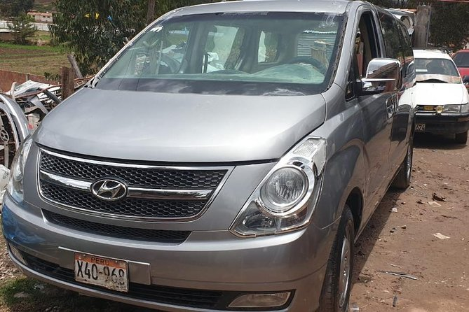 Private Transport from Cusco to Urubamba in the Sacred Valley