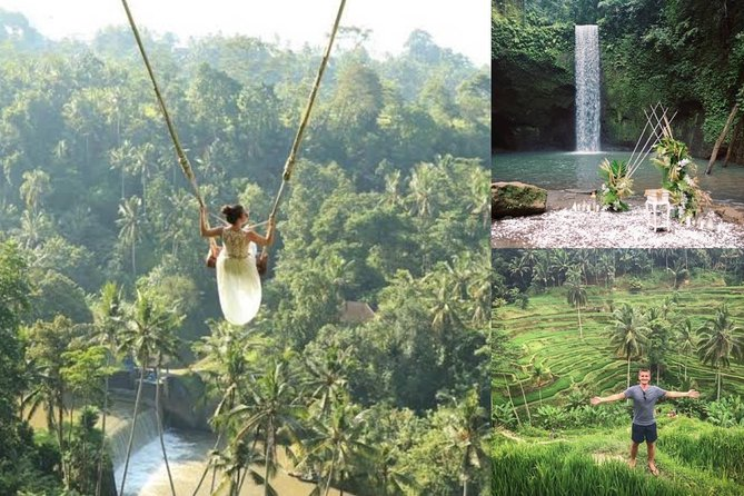 Best of ubud waterfall - jungle swing - rice terrace - All ticket inclusive