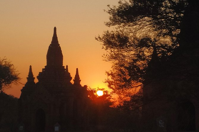Night view of Bagan photo 1
