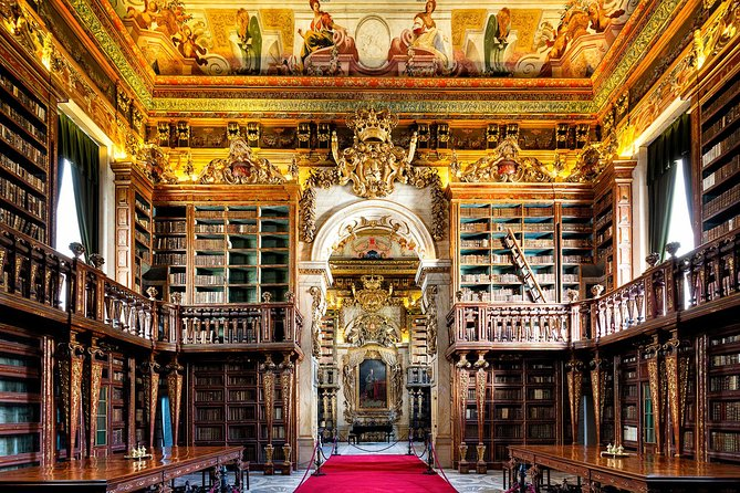Joanina Library & University Tour of Coimbra (accesso VIP!)