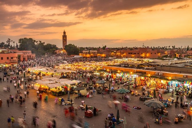 Marrakech City Tour : Private Half-Day Guided Tour