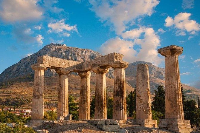 Ancient Corinth, Temple of Hera, Blue Lake full day private tour from Athens