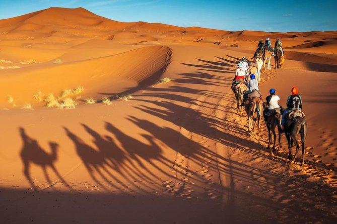 Marrakech to Fez via Merzouga Desert - 3 Days Desert Tour