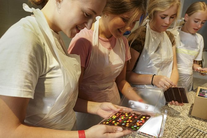 Chocolate Workshop and Self-Guided Museum Visit at Choco-Story in Brussels