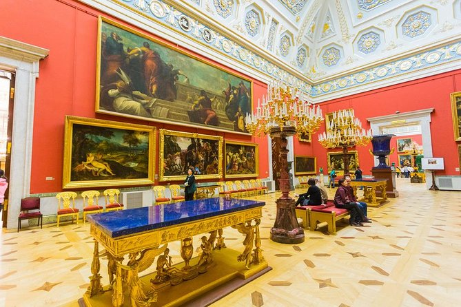 PRIVATE ART Tour to the Russian Museum, Hermitage and Church on Spilled Blood