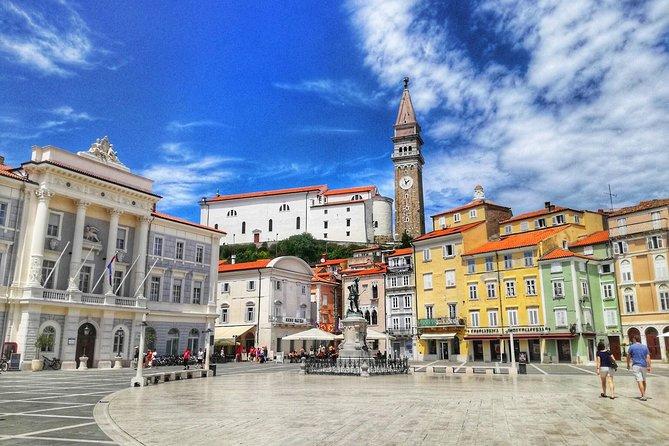 Postojna cave, Predjama castle and Piran tour from Ljubljana