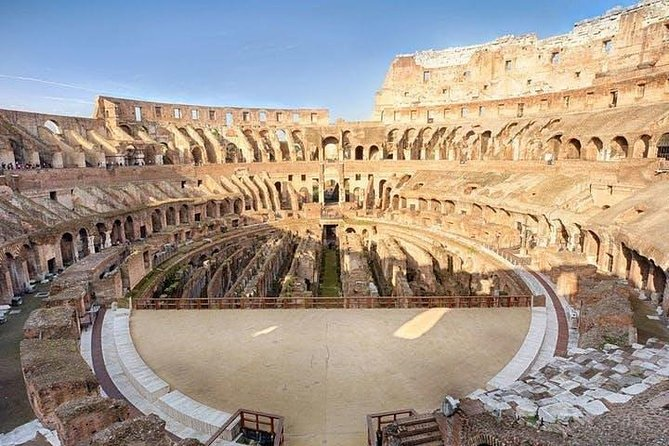 Colosseum Arena Floor tour with skip the line tickets photo 8