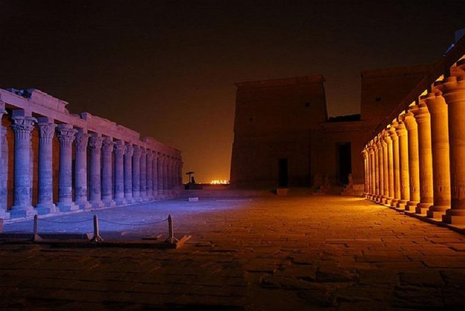 Aswan: Sound and Light Show at Philae Temple